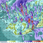 Very strong windgusts in the forescast for Thursday night until Friday – up to 40 m/s ( 90 mph / 145 km/h)