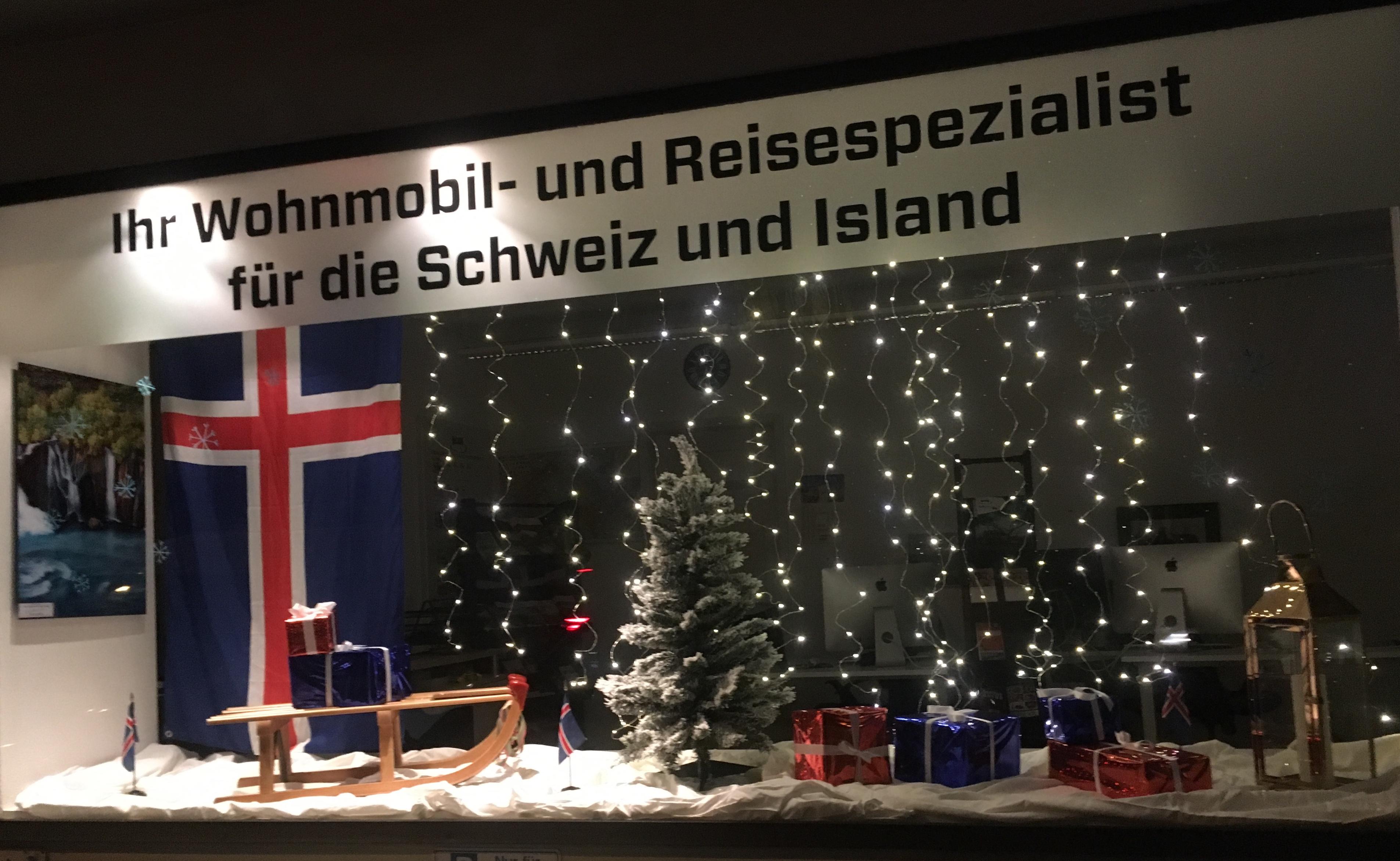 Our Christmas Window in Gebenstorf