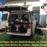 Die QUQUQ Boxen können an der Ferienmesse 2019 in St. Gallen besichtigt werden – reinschauen lohnt sich!!